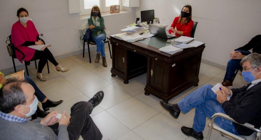 Junín: El Municipio y Región Sanitaria III evalúan el funcionamiento de geriátricos y casas para adultos