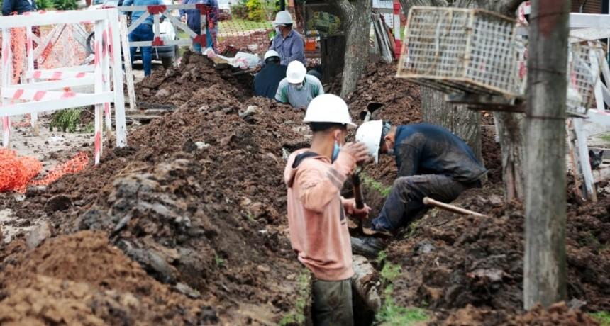 Alte. Brown: Avanzan las obras para abastecer de agua a 10 mil vecinos de Malvinas Argentinas
