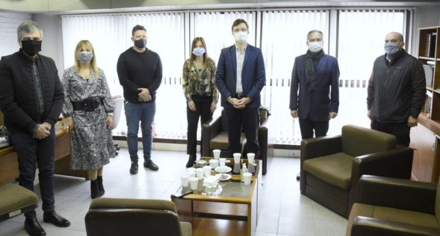 Intendentes del GBA se reunieron con funcionarios del Departamento Judicial de Morón