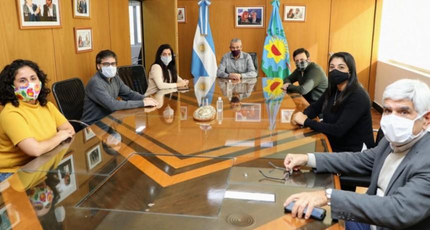 Avellaneda: Ferraresi se reunió con la titular de PAMI, Luana Volnovich