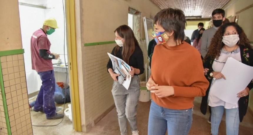 Comenzaron las obras de refacción en las escuelas de Quilmes