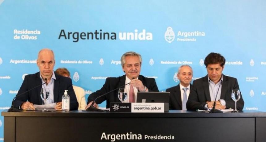 Alberto Fernández anunció que el AMBA continúa con las restricciones hasta el 24 de mayo y el resto del país pasa a Fase 4