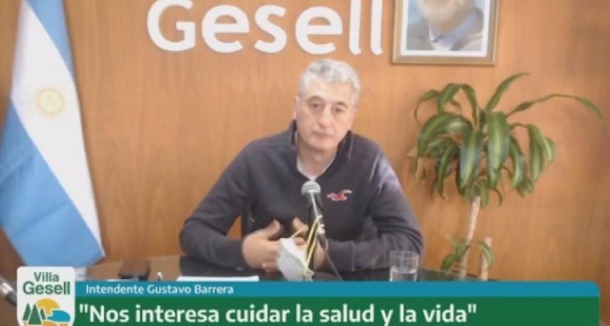 """Gustavo Barrera (V. Gesell): """"Alberto no está enamorado de la Cuarentena. Está enamorado de la vida"""""""