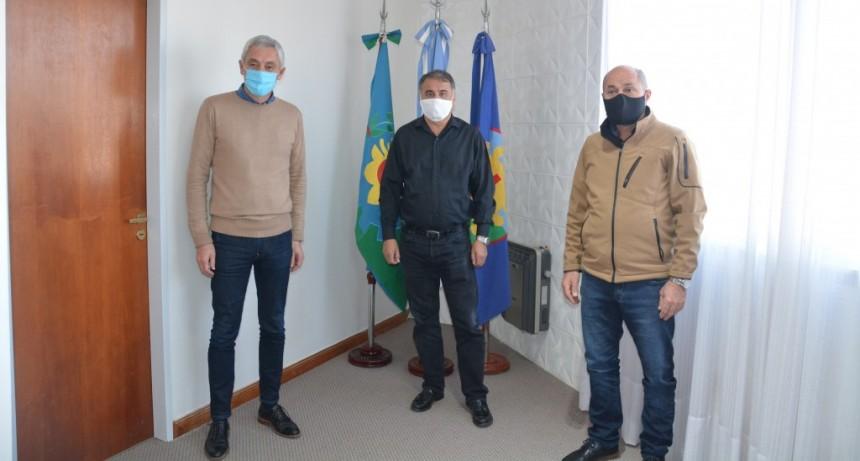 Berisso: Los intendentes Cagliardi y Secco se reunieron con el viceministro de Obras Públicas