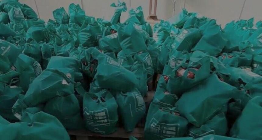 Tandil: Este miércoles se inicia un nuevo operativo de entrega de módulos alimentarios