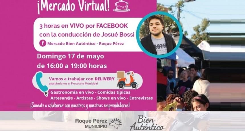 Roque Pérez: El domingo 17 festejan de modo virtual los 4 años del Mercado Municipal