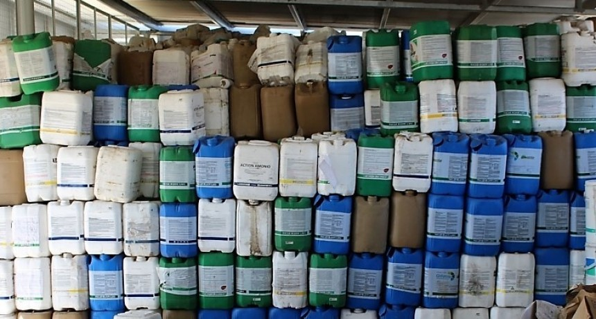 General Villegas: Reunión para productores y recolección de envases de fitosanitarios
