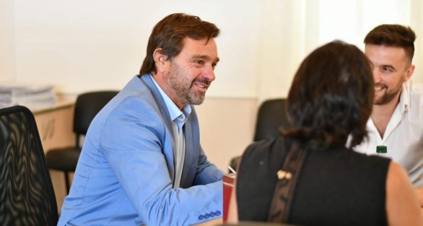 """Gonzalo Peluso: """"En Magdalena, estamos preocupados y ocupados en reactivar toda la actividad económica"""""""