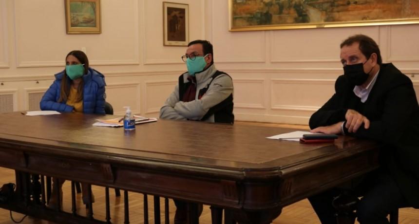 Zárate: El intendente Cáffaro mantuvo una teleconferencia con Axel Kicillof