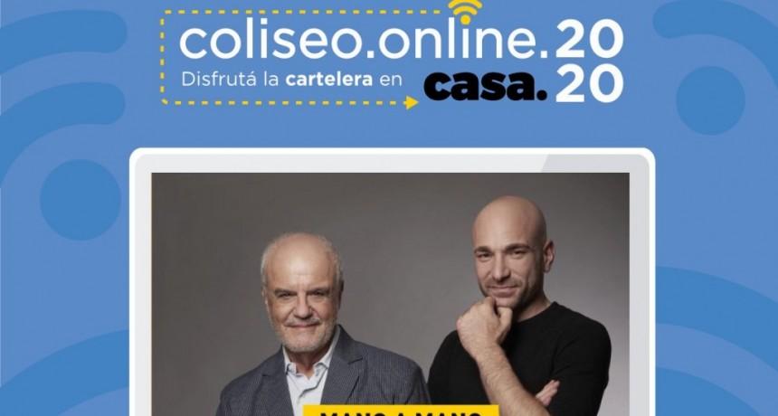 """La Plata: Con la presencia de Juan Leyrado, se inaugura el ciclo """"Tertulias en el Coliseo"""""""