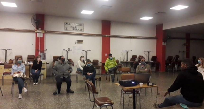 Pergamino: Capacitación del Equipo de Asistencia Pre Hospitalaria Covid-19