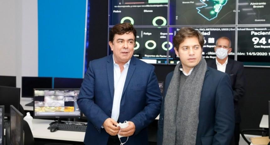 Tras conocer el software CovidControl de La Matanza, Kicillof pidió que se instale en toda la provincia
