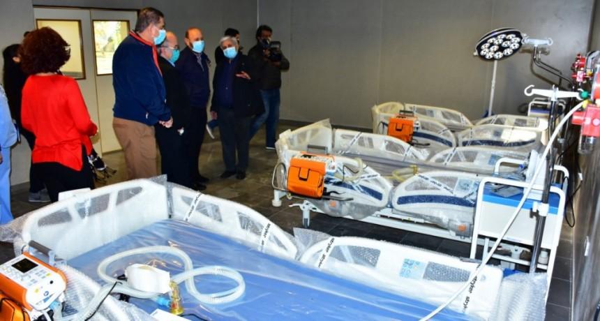 Formosa: Insfrán recorrió el Hospital Interdistrital Evita, que funcionará como Centro de Contingencia Covid-19