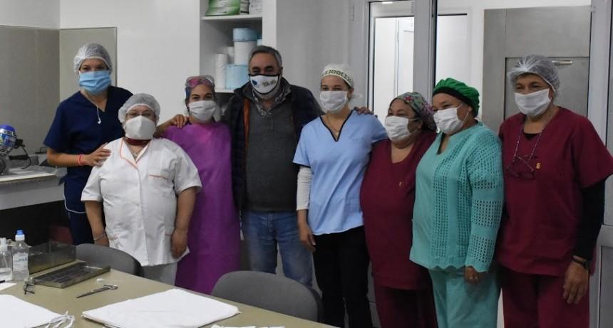 Trenque Lauquen: El intendente Fernández inauguró el Centro de Esterilización en el Hospital