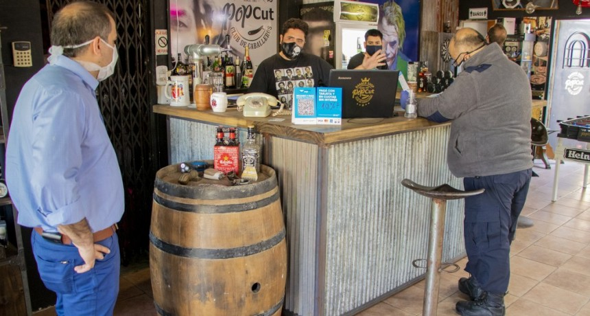Junín: El municipio fiscaliza el cumplimiento de protocolos en las peluquerías