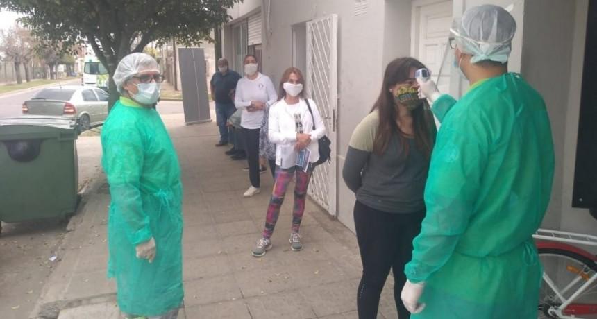 San Nicolás: La municipalidad inicia una campaña de testeos de temperatura
