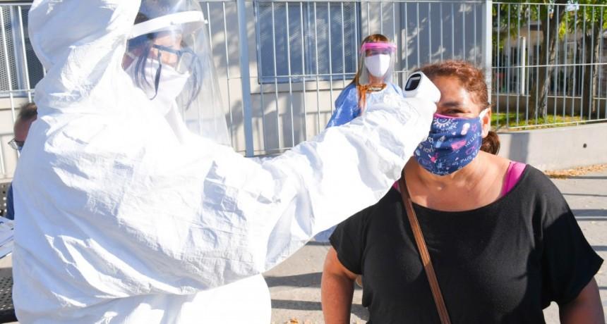 San Fernando realizó un operativo integral de prevención contra coronavirus y dengue