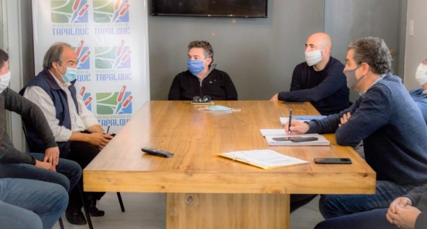 Tapalqué: El municipio y la provincia definieron importantes avances en obras hidráulicas
