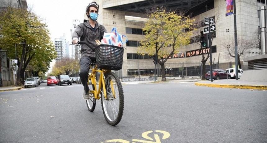 La Plata: El Municipio avanza en la demarcación de calles para garantizar el distanciamiento social