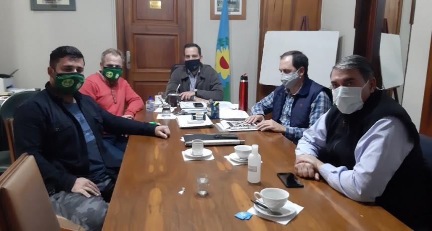 San Pedro: Reunión con COOPSER y el Centro de Comercio