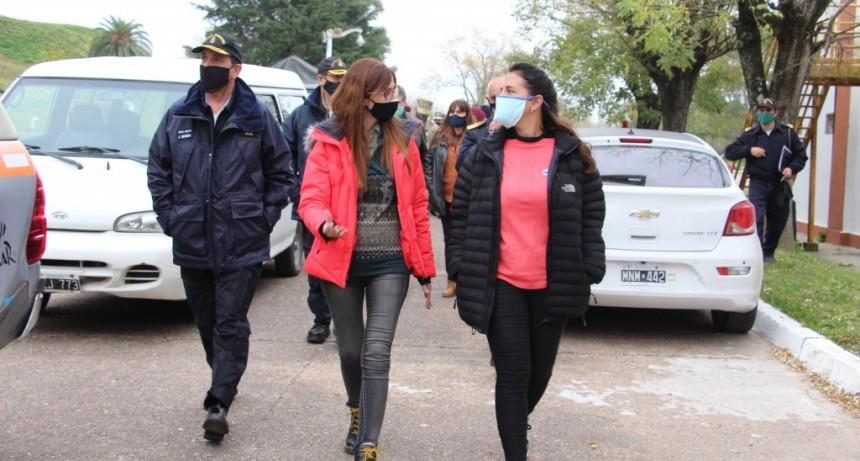Zárate: Importantes Trabajos de coordinación entre el Municipio y el Ministerio de Defensa de la Nación