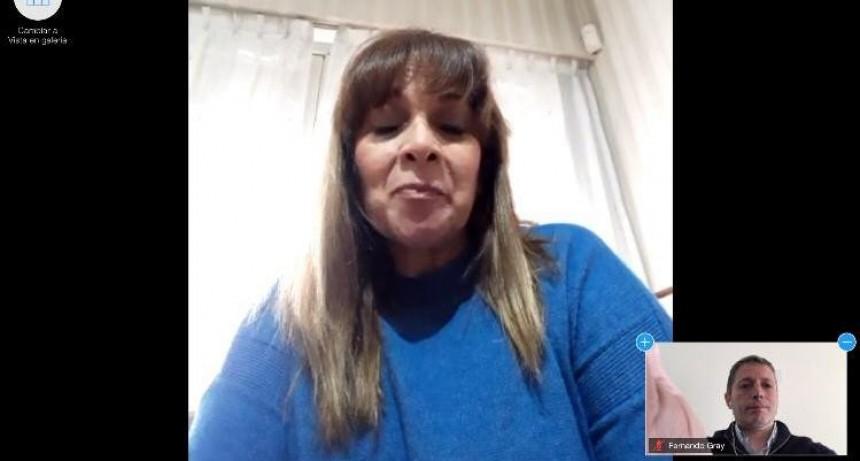 E. Echeverría: Fernando Gray participó del acto virtual por el 25 de mayo