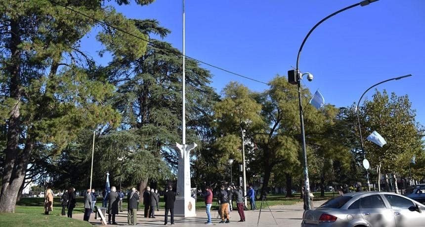 Chivilcoy: Acto simbólico en conmemoración del 210° aniversario de la Revolución de Mayo