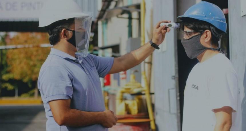 Lanús: En nueva fase de la cuarentena, habilitan 18 rubros industriales
