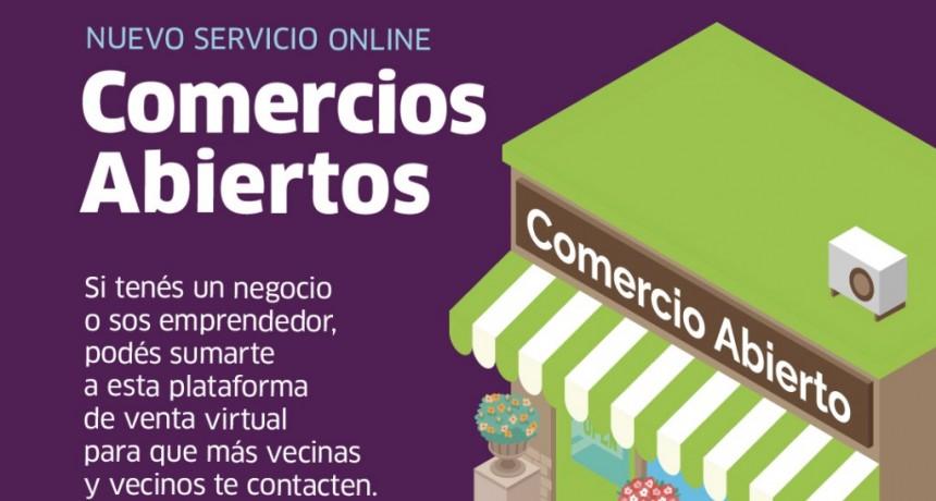 San Martín se suma al Programa Comercios Abiertos