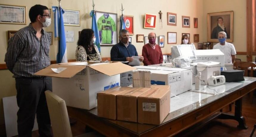 Chivilcoy: El Muncipio recibió tres respiradores por parte del Ministerio de Salud de la Provincia de Buenos Aires