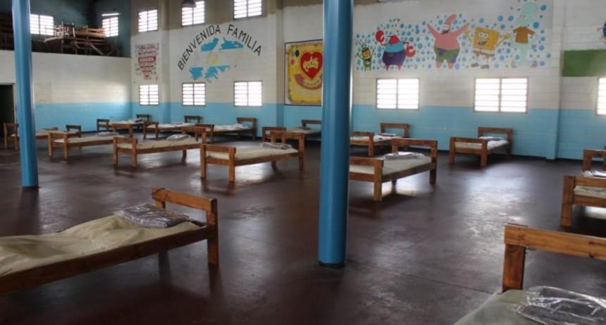 Ituzaingó: Instalan un centro de salud para aislamiento en la unidad penal N°39