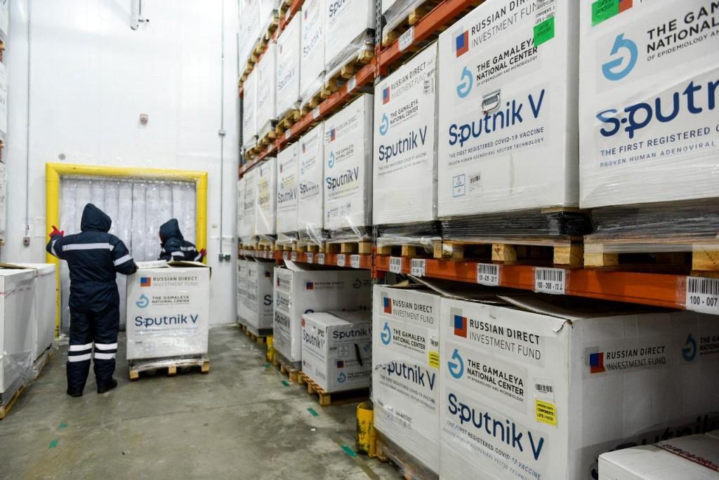 Comienza hoy la distribución de 650.400 dosis del componente 1 de la Sputnik V en todas las provincias