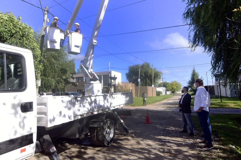 La Plata: Instalan nuevas cámaras de seguridad en Villa Castells