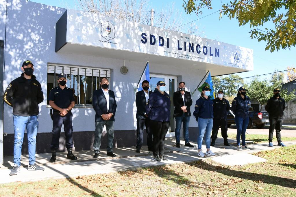 Lincoln: Se inauguró la Subdelegación Departamental de Investigaciones Lincoln