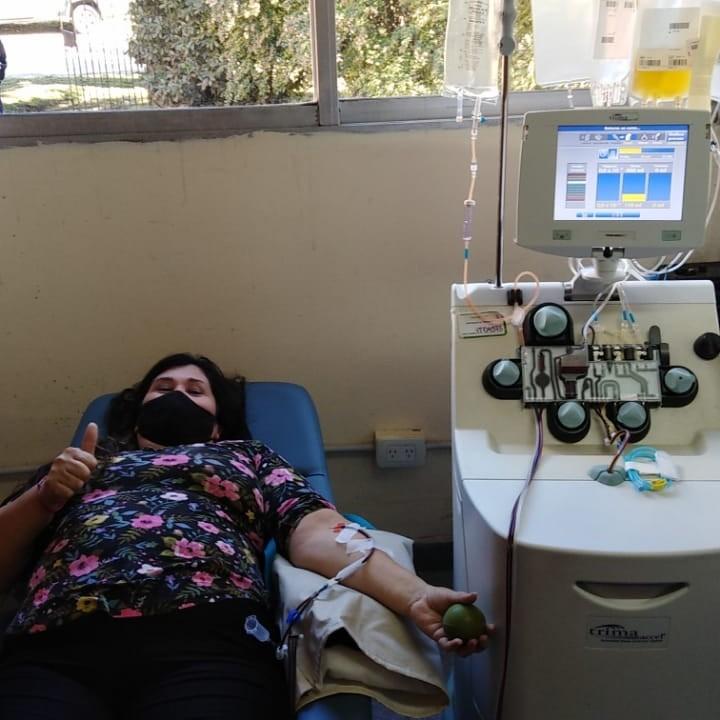 Tapalqué: Pacientes del distrito donan plasma
