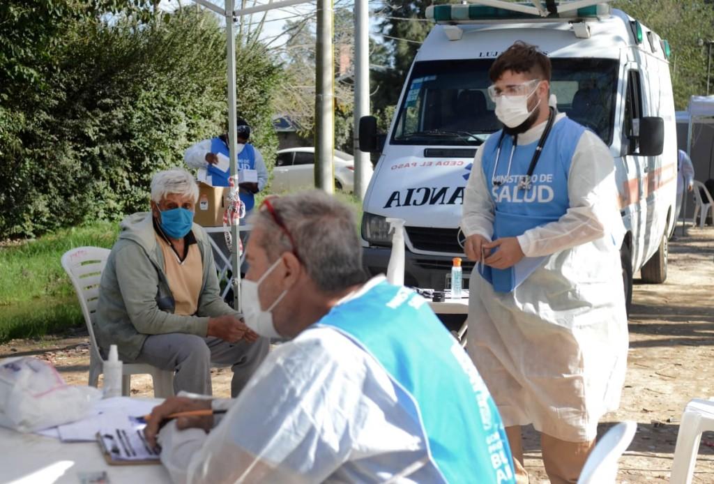 Luján: Operativo Detectar, el Municipio relevó 90 viviendas en el barrio Villa del Parque