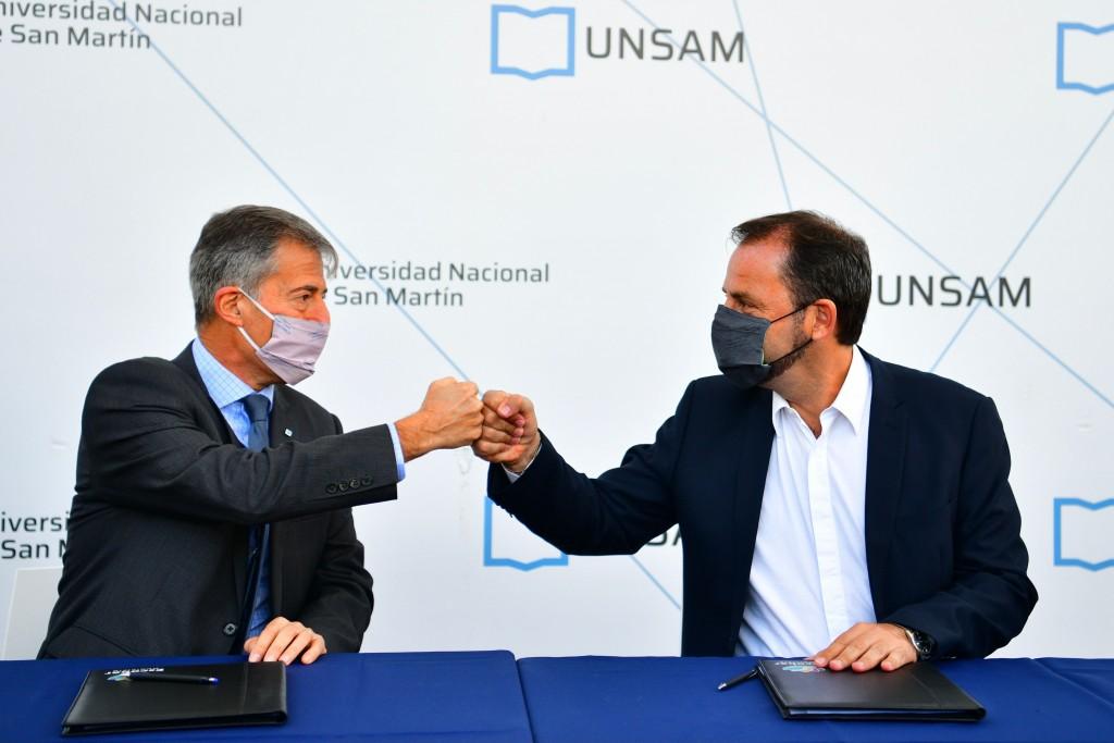 Escobar: la Municipalidad y la Universidad Nacional de San Martín para diseñar una escuela preuniversitaria de orientación técnica