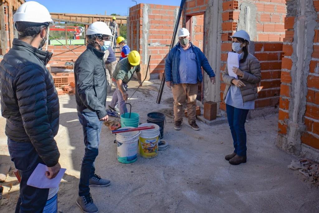San Fernando: Juan Andreotti visitó la obra del nuevo Centro de Servicios y Espacios Públicos