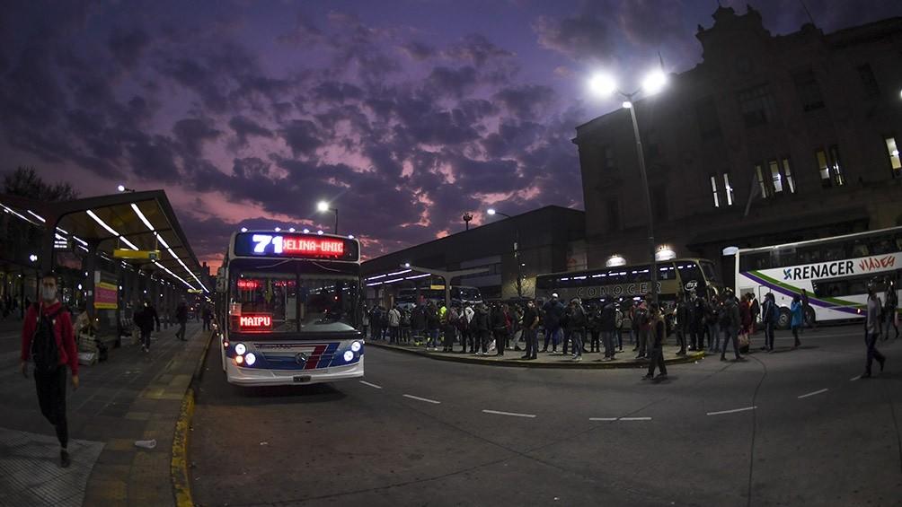 """Mario Vacca (CETUBA): """"Hacemos el máximo esfuerzo para sostener los servicios nocturnos de colectivos"""""""