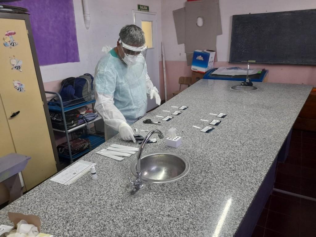 Balcarce: Se harán testeos en establecimientos educativos