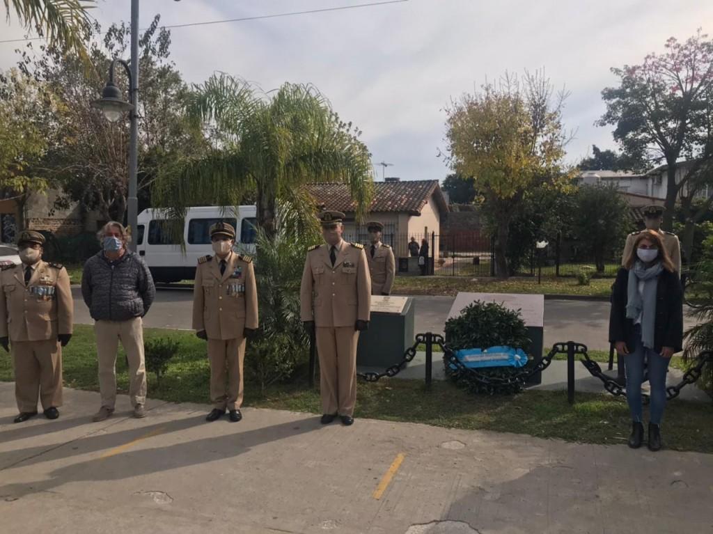 Tigre: El Municipio rindió homenaje al Cabo Segundo Jorge Eduardo López en Troncos del Talar