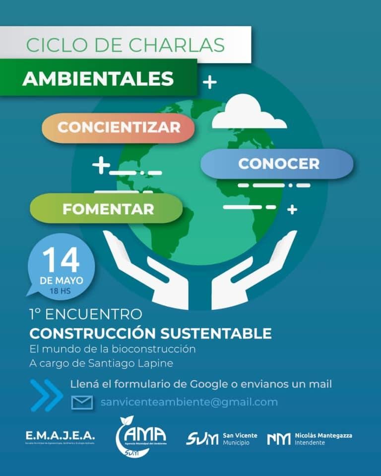 San Vicente: Comienza el ciclo de charlas ambientales