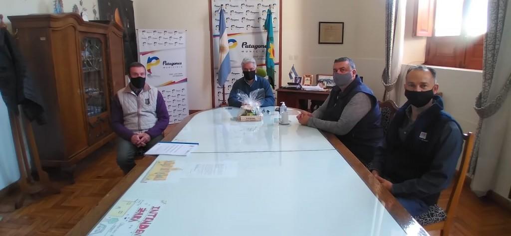Patagones: Zara se reunió con autoridades del Consejo Escolar y la Escuela Spegazzini