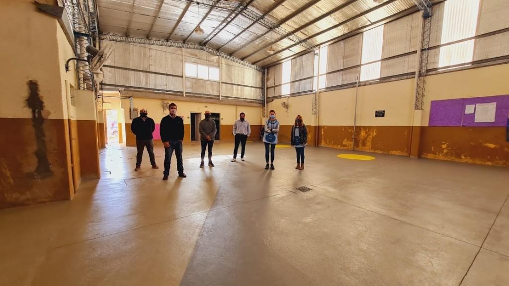 Mercedes: Municipio y Consejo Escolar desarrollan importantes obras en el Jardín N°903
