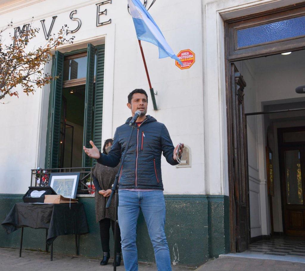 Gral. Rodríguez: El Intendente encabezó el acto por el 157º Aniversario de la Fundación de Nuestro Pueblo