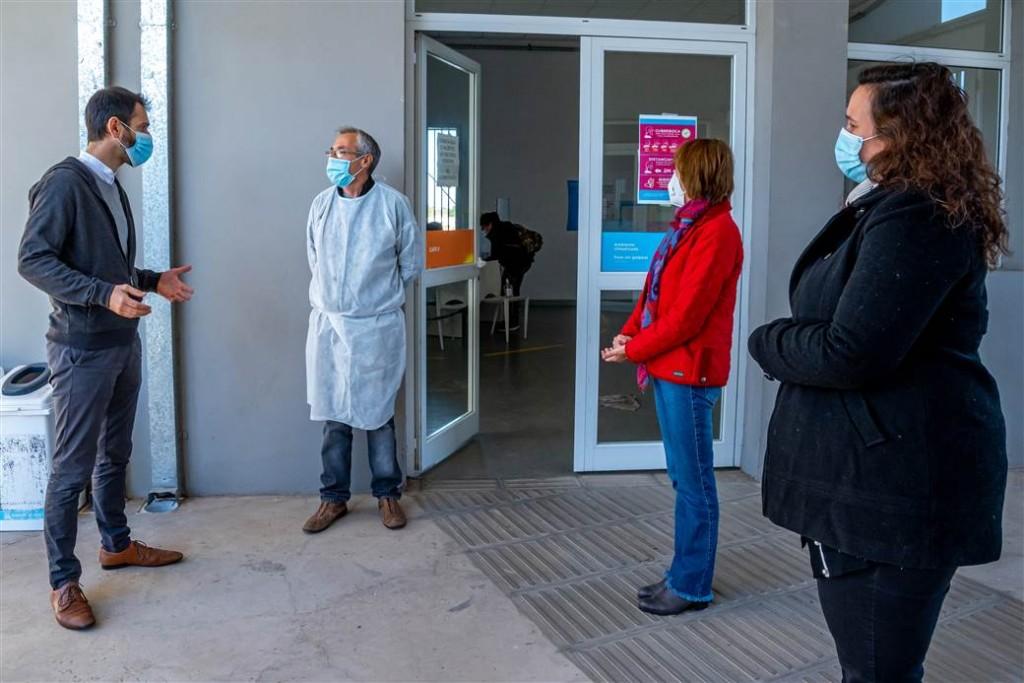 Junín: Petrecca anunció la recategorización para los enfermeros de los CAPS