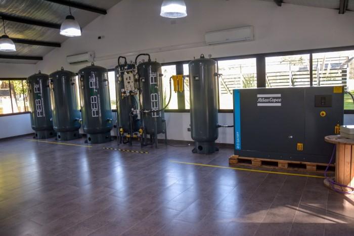 Moreno: La Provincia abrió una nueva planta de oxígeno en el distrito
