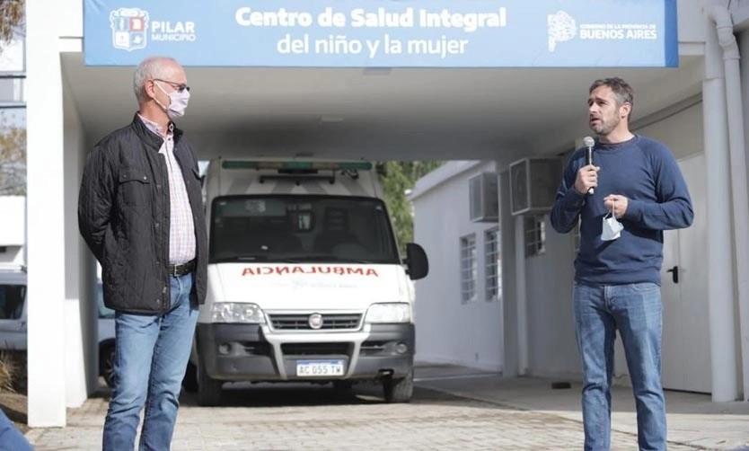 Pilar: Inauguran un centro de salud especializado en atención de mujeres y niños