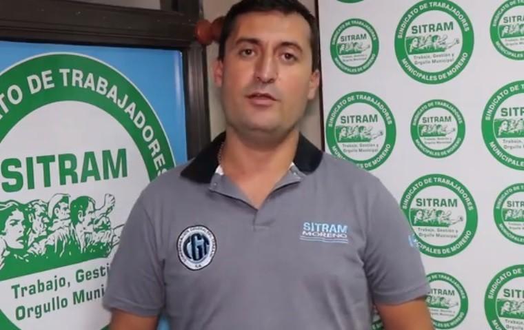 """Ariel González (SITRAM): """"El municipio tiene que corregir los meses de pago o el porcentaje tendrá que ser mayor"""""""