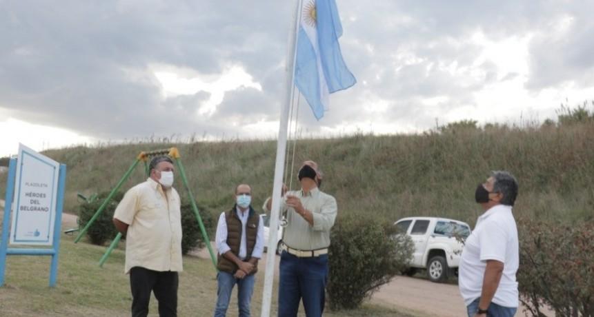 Bolívar: El Intendente Pisano Conmemoró el 39° Aniversario del hundimiento del General Belgrano